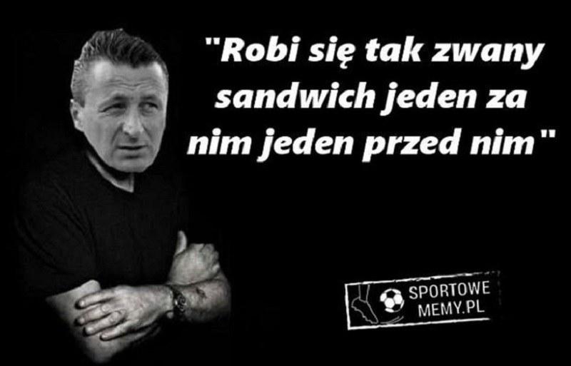 Najlepsze teksty Tomasza Hajty /Sportowememy.pl /Internet
