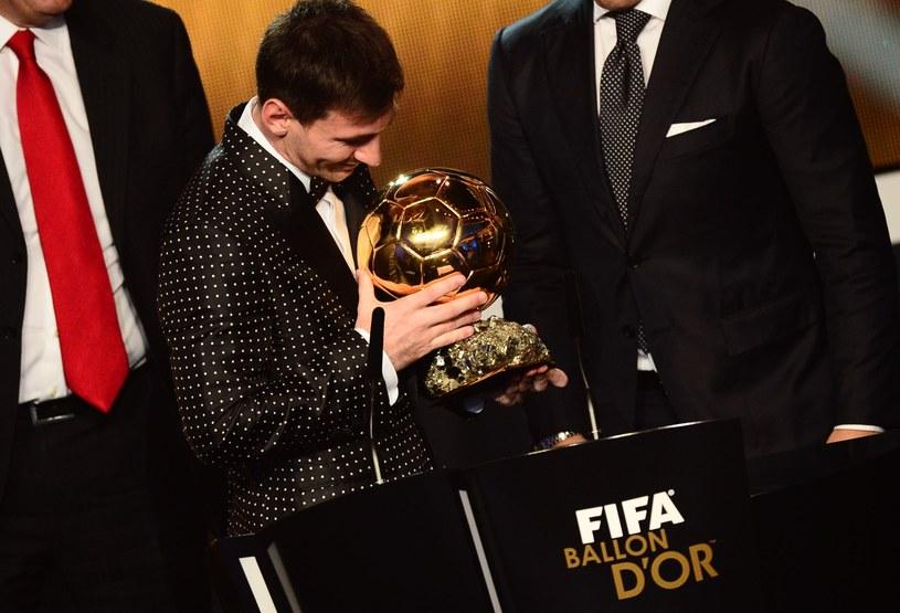 Najlepszy piłkarz świata - Lionel Messi /AFP