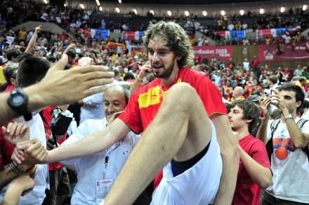 Najlepszy zawodnik EuroBasketu - Pau Gasol /AFP