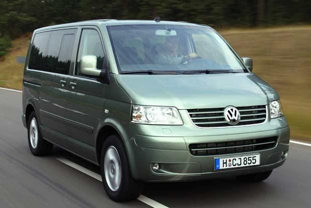 Najnowsza wersja VW Multivana / kliknij /INTERIA.PL