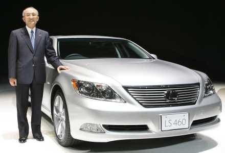 Najnowszy model Lexusa - dla bogatych osób to tylko preludium /AFP