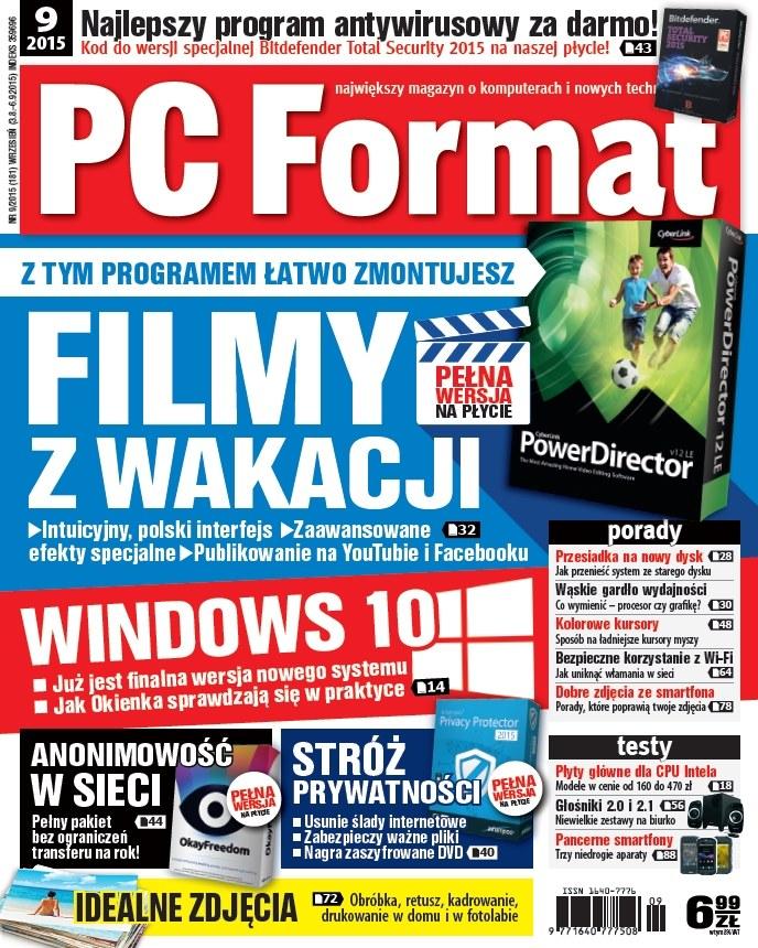 Najnowszy numer PC Formatu w sprzedaży od 3 sierpnia. /materiały prasowe