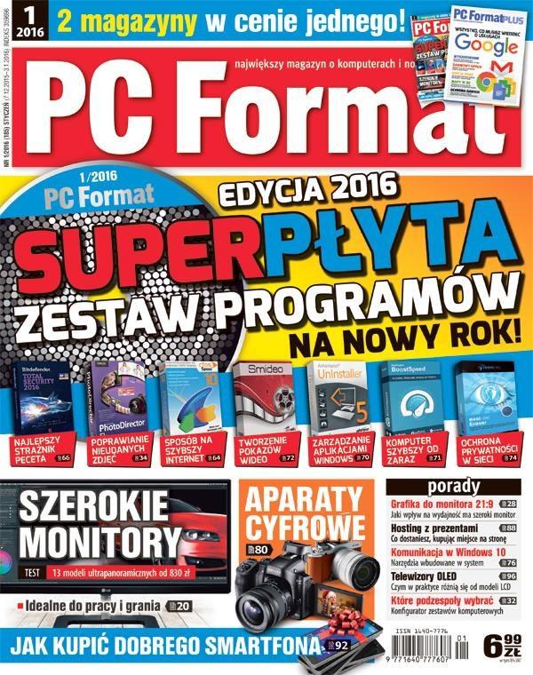 Najnowszy numer PC Formatu w sprzedaży od 7 grudnia. /PC Format
