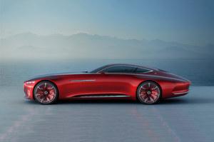 Najpiękniejsze auto świata? Oto Vision Mercedes-Maybach 6