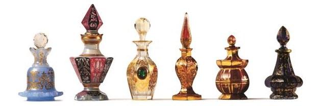 Najpiękniejsze renesansowe flakony na perfumy to dzieło weneckich rzemieślników. /Mat. Prasowe