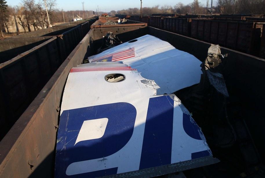 Najpierw do Charkowa wrak transportowano pociągiem / Pochuyev Mikhail    /PAP/EPA