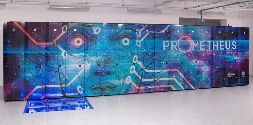 Najpotężniejszym spośród polskich superkomputerów jest Prometheus /materiały prasowe