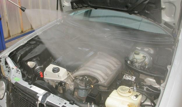 Najskuteczniejsze jest mycie ciepłą wodą. Lancy nie należy zbliżać do plastikowych elementów lub elektroniki na mniej niż 40 cm. /Motor