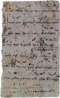 Najstarszy zachowany odpis z zapisem nutowym Bogurodzicy, 1407 /Encyklopedia Internautica