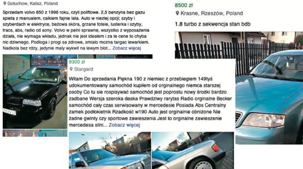 Najszybciej sprzedają się samochody popularnych marek wystawiane przez faktycznych właścicieli. /Motor
