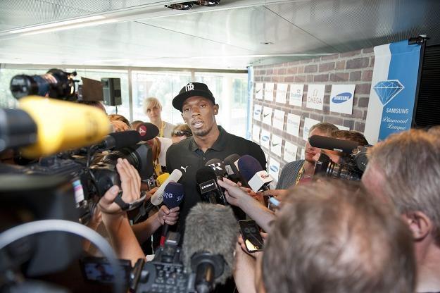 Najszybszy człowiek świata Usain Bolt /AFP