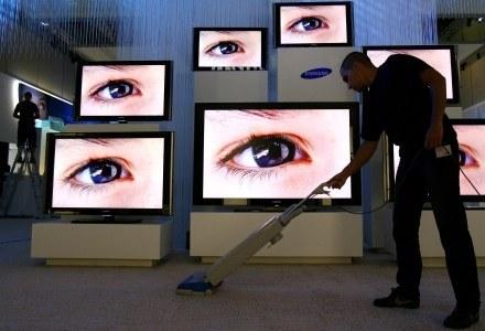 Najważniejszym elementem telewizora jest matryca. Jeśli ona zawodzi - wytrwane oko znajdzie błędy. /AFP