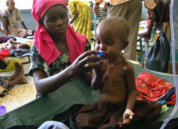 Najwięcej osób cierpiących z powodu niedożywienia mieszka w Afryce i Azji /AFP