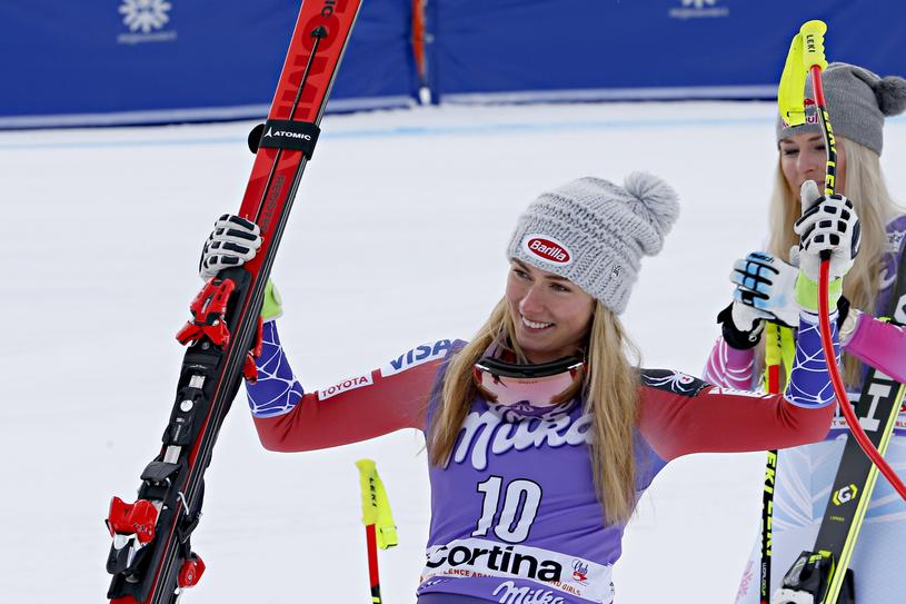 Największą fanką 22-letniej narciarki jest jej 95-letnia babcia. Jeśli tylko może, przyjeżdża na zawody i kibicuje wnuczce na mecie /Getty Images