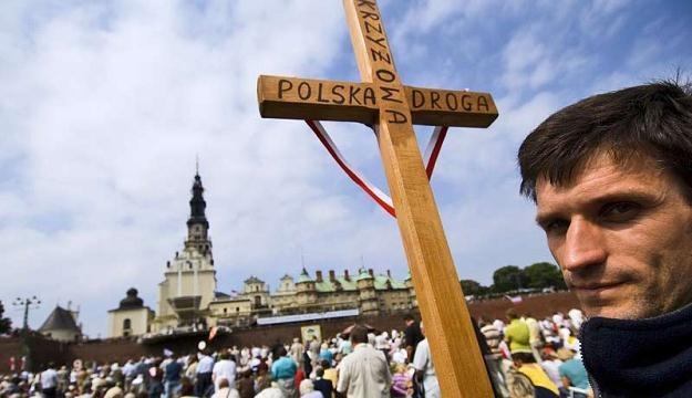 """Największą """"popularnością"""" wśród pielgrzymów cieszy się Jasna Góra/fot. Jacenty Dedek /Reporter"""