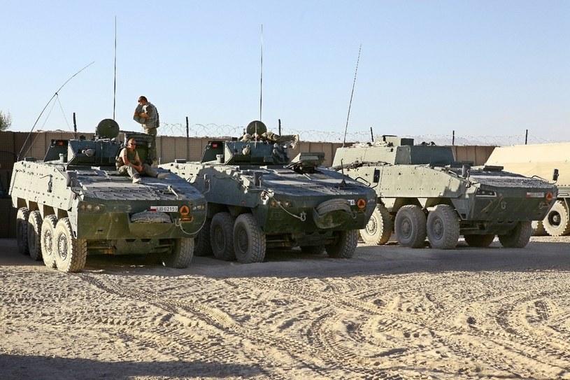 Największy polski kontyngent jest w tej chwili w Afganistanie /AFP