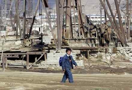 Największym dobrem Azerbejdżanu nadal pozostaje ropa /AFP