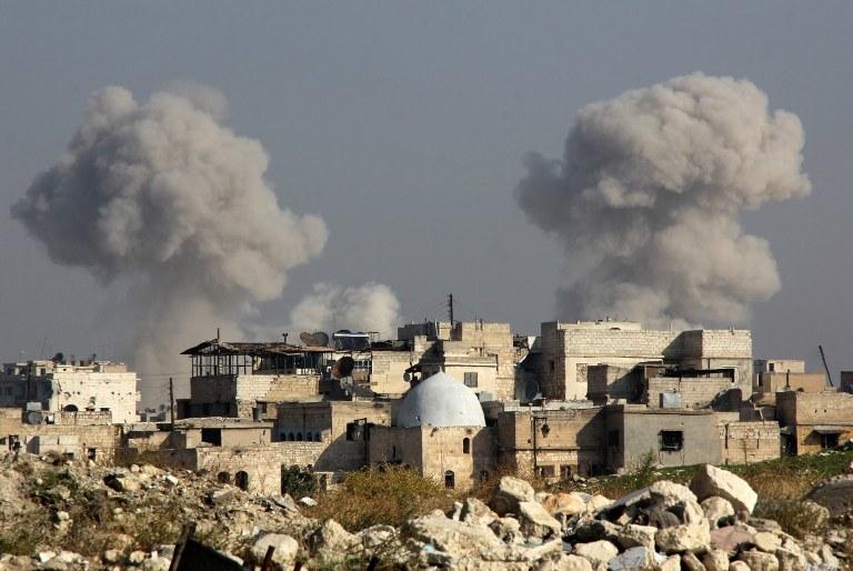 Naloty w Syrii / zdj. ilustracyjne /AFP