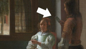 Namalowany prawie 350 lat temu. Co robi na nim iPhone?
