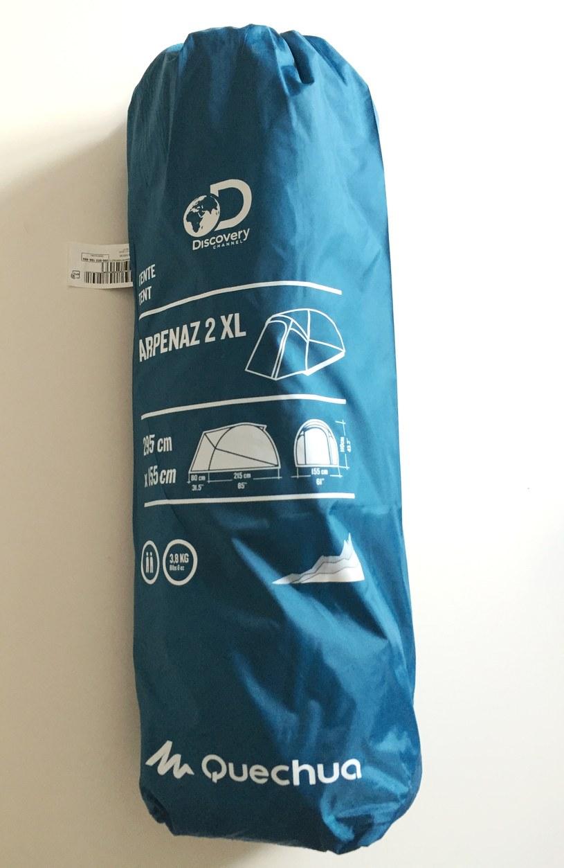 Namiot Arpenaz XL 2 /INTERIA.PL/materiały prasowe