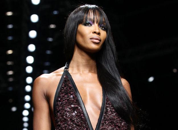 Naomi Campbell na tegorocznym Tygodniu Mody w Mediolanie /Getty Images/Flash Press Media