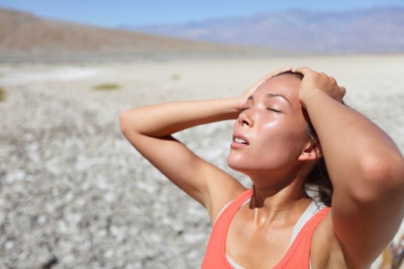Napary ograniczą pocenie, także wyeliminują przykry zapach potu /123RF/PICSEL