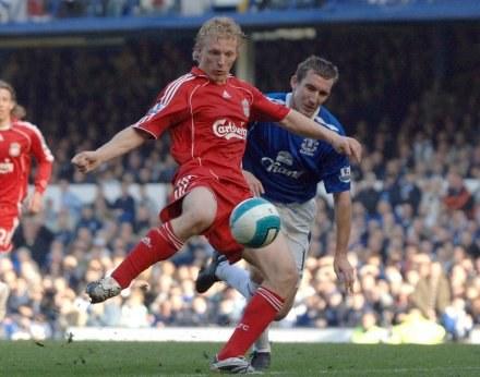Napastnik Liverpoolu Dirk Kuyt /AFP