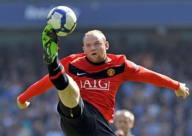 Napastnik Manchesteru United - Wayne Rooney /AFP