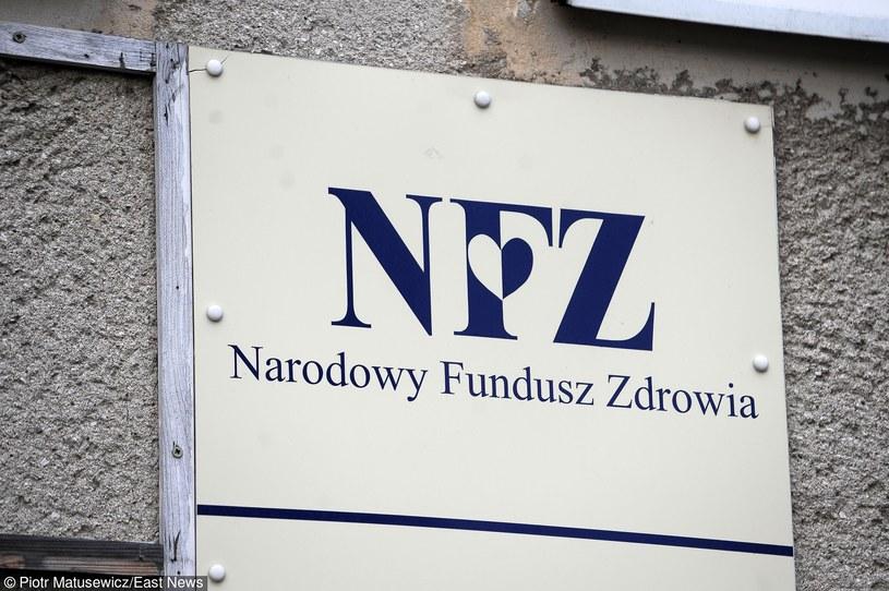 Narodowy Fundusz Zdrowia /Piotr Matusiewicz /East News
