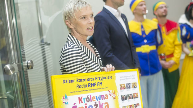 """Narratorką opowieści o Królewnie Śnieżce jest Ewa Błaszczyk – szefowa fundacji """"Budzik"""". /AKPA"""