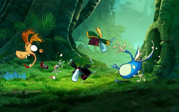 Narzekacie na brak platformówek w klasycznym stylu? Rayman Origins to piękny powrót do przeszłości /Informacja prasowa
