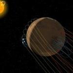 NASA odkryła magnetyczny ogon ciągnący się za Marsem