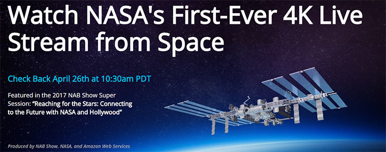 NASA przeprowadzi transmisję na żywo z wysokości 400 km nad Ziemią /NASA