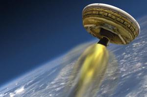 """NASA przeprowadziła pierwszy test """"latającego spodka"""""""