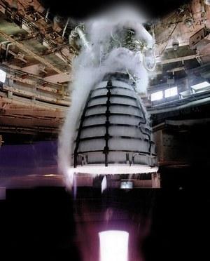NASA testuje silnik RS-25