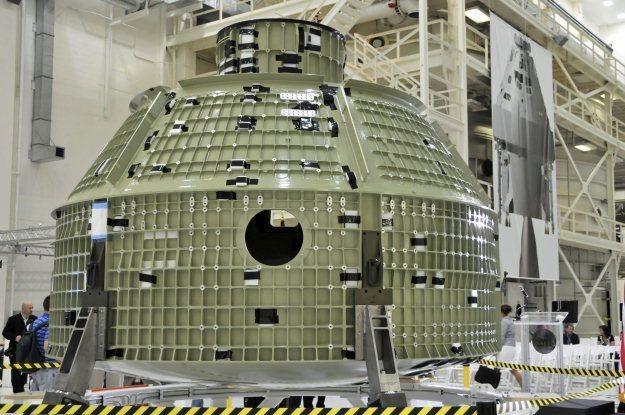 NASA wreszcie zaprezentowała gotowego Oriona /AFP