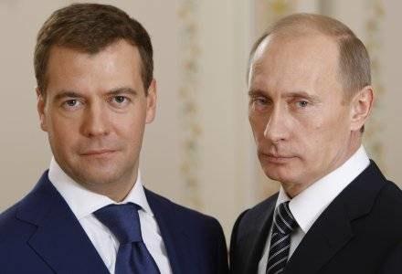 Następcą Putina został Miedwiediew /AFP