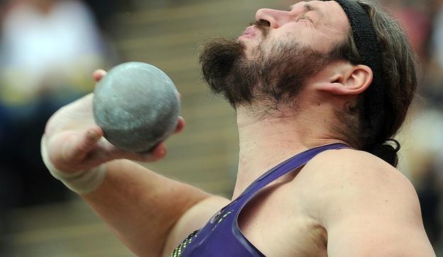 Nasz kulomiot - Tomasz Majewski. /AFP