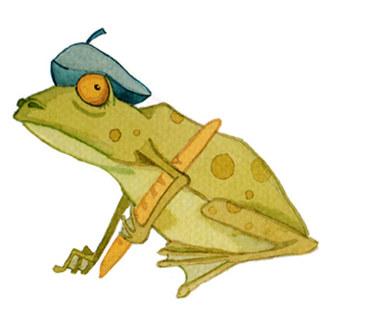Nasze bajki: Francuska żaba