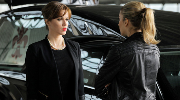 """Natalia Avelon w serialu """"Na krawędzi"""" /Polsat"""