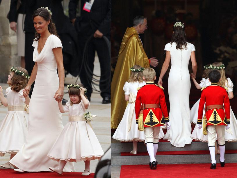 Natalia Jaroszewska pochwaliła sukienkę siostry Kate, Pippy  /Getty Images/Flash Press Media