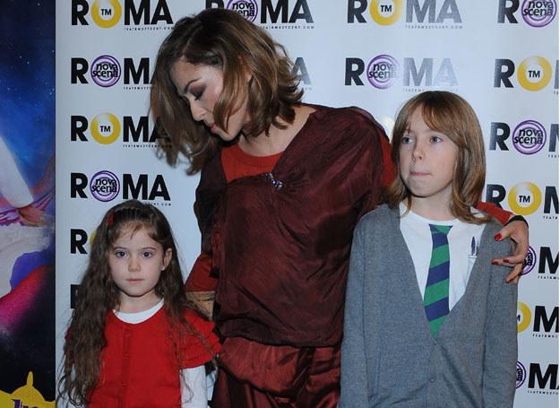 Natalia jest mama Janka i Ani. Oboje odziedziczyli po rodzicach zamiłowanie do muzyki /A. Szilagyi /MWMedia