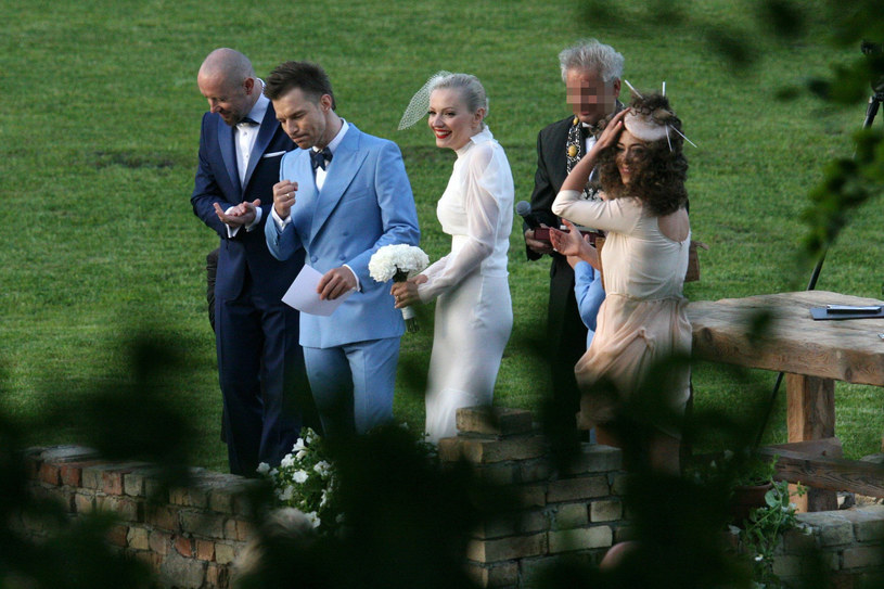 Natalia Kukulska była świadkową na ślubie Doroty i Adama Sztaby /- /East News