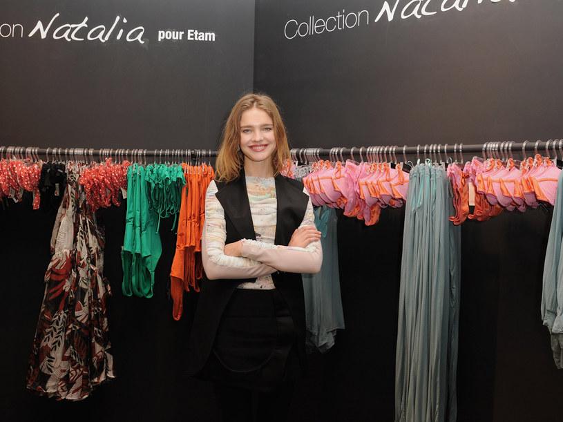 Natalia Vodianova ze swoją kolekjcą  /Getty Images/Flash Press Media