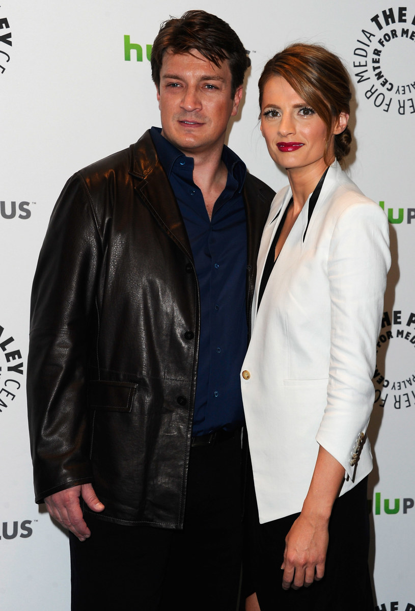 Nathan Fillion & Stana Katic /Alberto E. Rodriguez /Getty Images