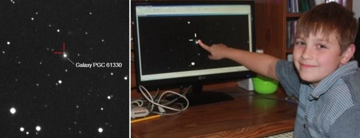 Nathan Gray jest aktualnie najmłodszym odkrywcą supernowej. /Kosmonauta