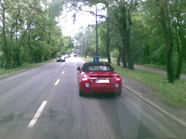 Nauka jazdy cabrio