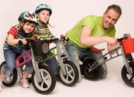 Nauka jazdy na rowerze jeszcze nigdy nie była tak prosta! /materiały prasowe