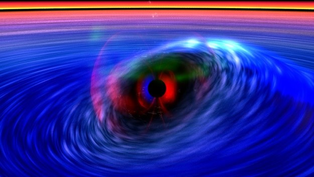 Naukowcy już wiedzą jak powstaje promieniowanie X w czarnych dziurach /materiały prasowe
