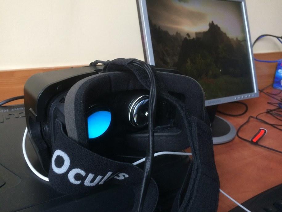 Naukowcy twierdzą, że wirtualna rzeczywistość pomaga w walce z bólem /Bartłomiej Paulus (RMF FM) /RMF FM